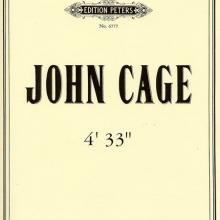 John Cage Partitur