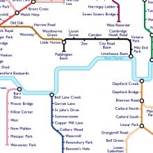 Underground map London